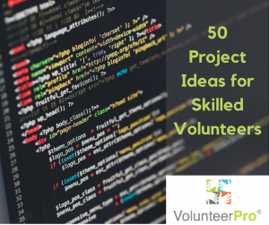 50 Ideas for skilled volunteers at volpro.net.