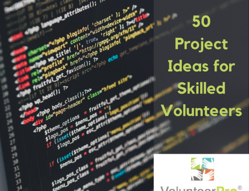 50 Project Ideas for Skilled Volunteers That Build Your Capacity