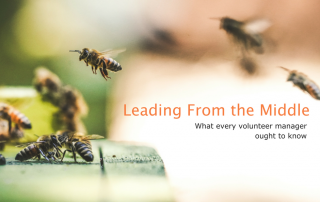 Nonprofit Volunteer Manager: Lead From Where You are at volpro.net