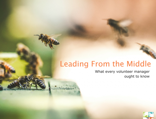 Leading From the Middle: What every volunteer manager ought to know