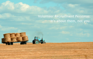 volunteer recruitment personas at volpro.net