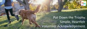 Volunteer Acknowledgement at volpro.net