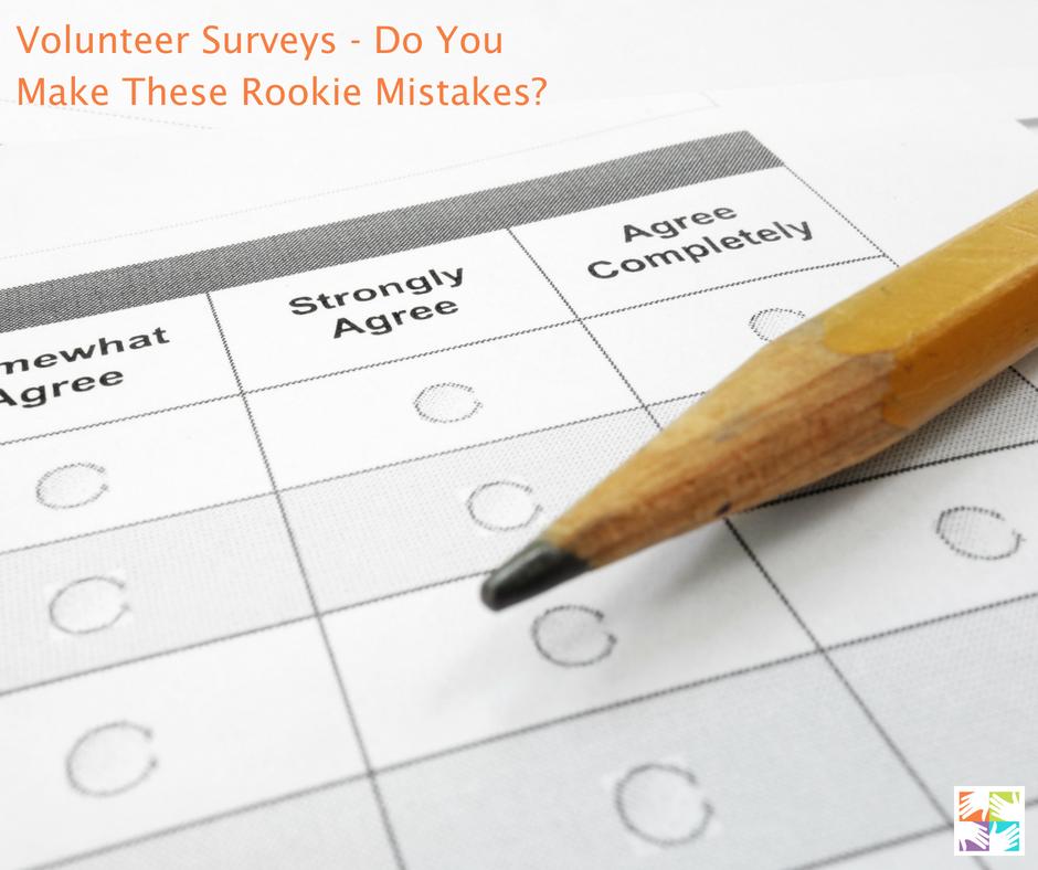 volunteer surveys at volpro.net