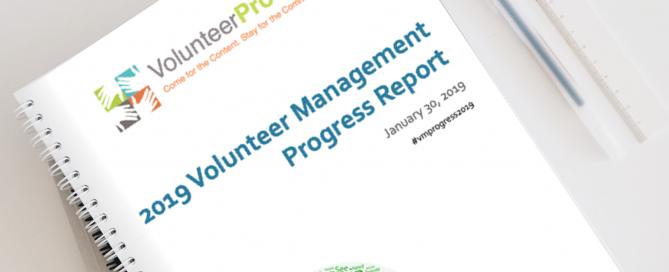 2019 Volunteer Management Progress Report | Volunteer Management Survey