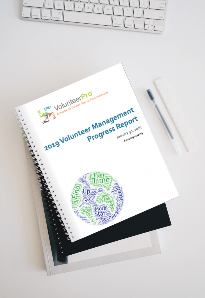 2019 volunteer management progress report