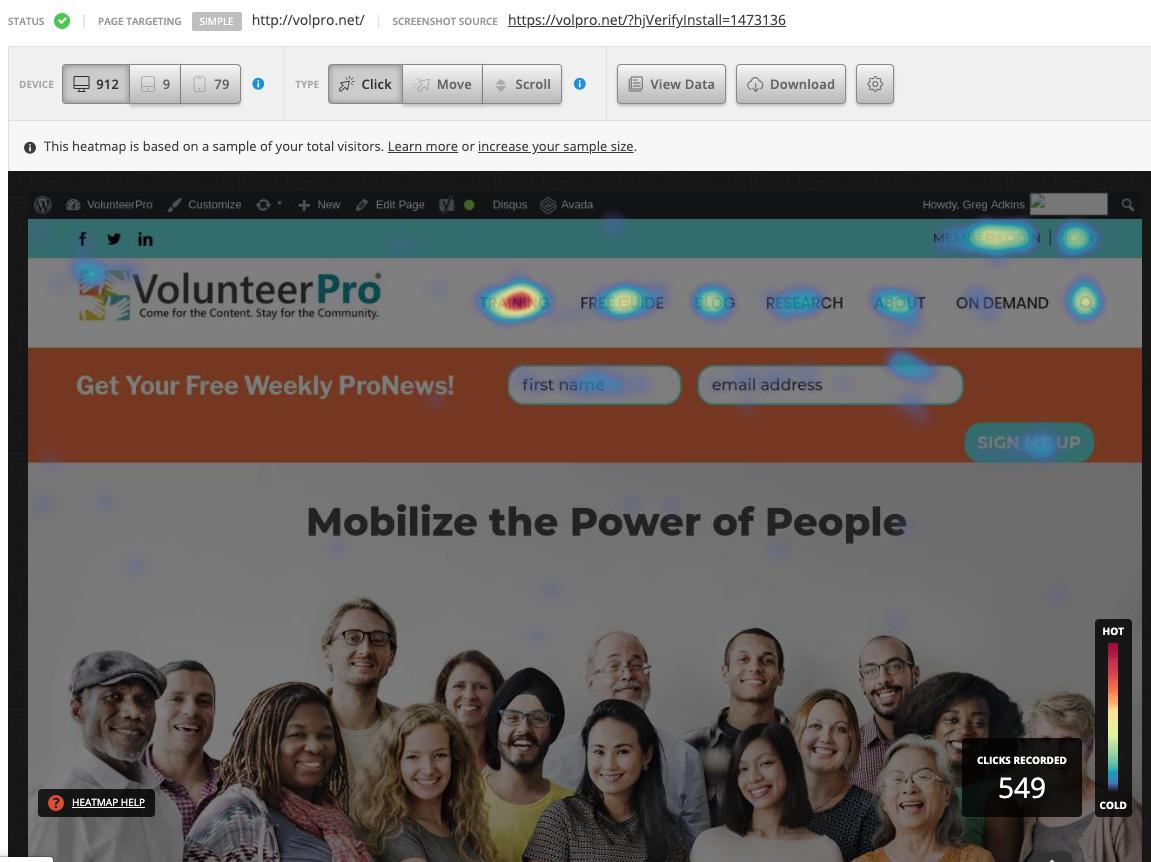 find volunteers