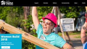 volunteer website